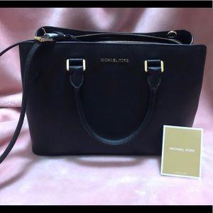 Michael Kors Savannah Saffiano satchel